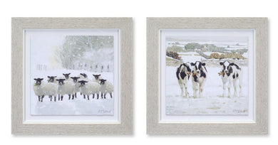 Sheep and Cow Prints - 2 Styles