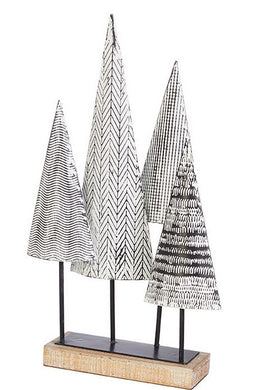 GEOMETRIC TABLETOP TREES