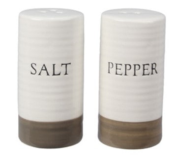Ceramic Salt & Pepper Set