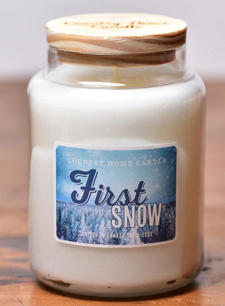 First Snow - Country Home Candle