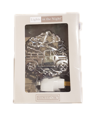 Truck In The Woods Night Light