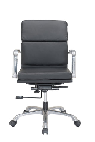 Gentil Luxury Low Back PU Leather Office Chair Task Chair Computer Chair For  Office Desk