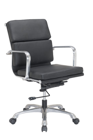 Charmant ... Luxury Low Back PU Leather Office Chair Task Chair Computer Chair For  Office Desk ...