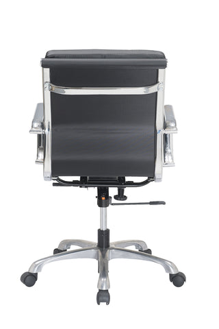 luxury low back pu leather office chair task chair computer chair