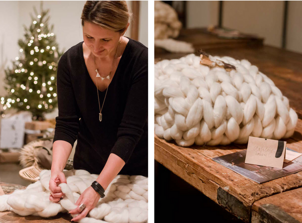 Chunky Handwoven Blanket Workshop - Loot Finer Goods - Curate Home Goods To Hold Dear
