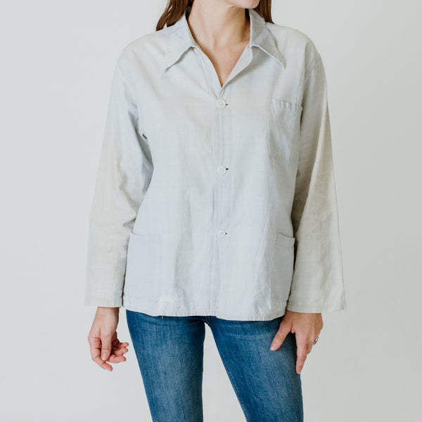 40's Linen + Cotton Top