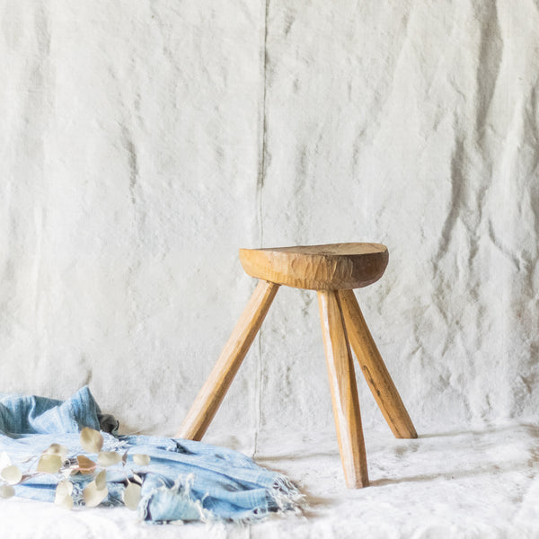 Farmhouse Milking Stool