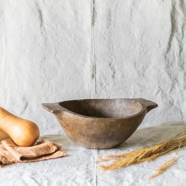 Primitive Dough Bowl