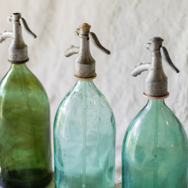 Glass Seltzer Bottles