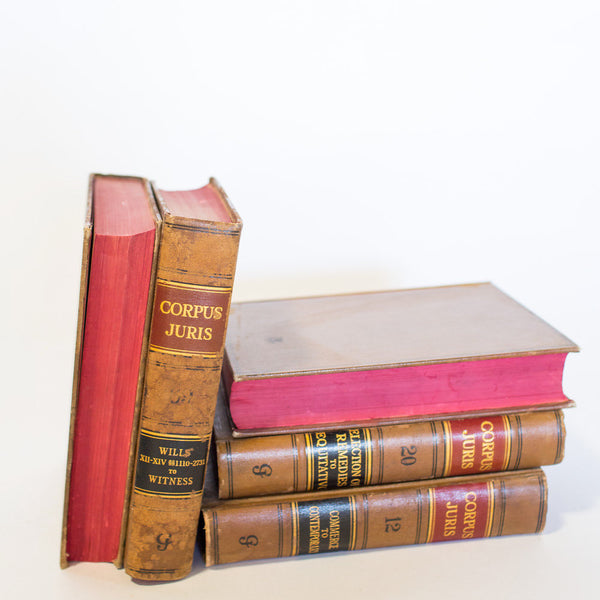 Vintage Law Books