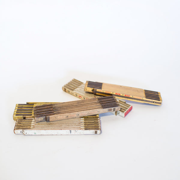 Vintage Ruler Sticks