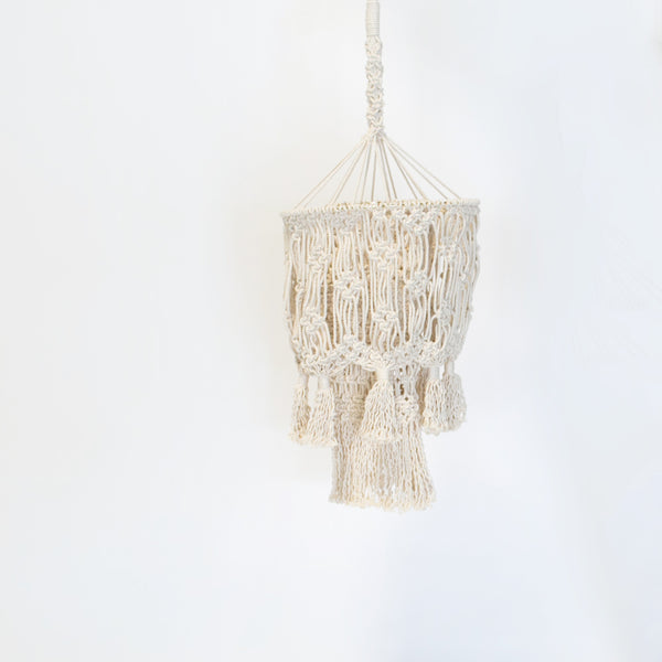 Large Macrame Chandelier x Sundried Home