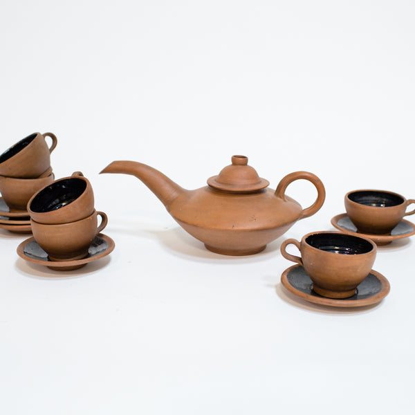 Mexican Clay Tea Set