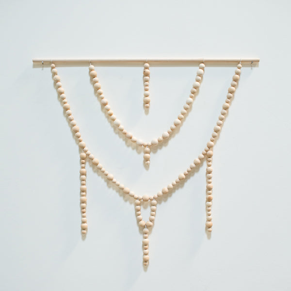Beaded Wall Hanging x Genuine & Ginger