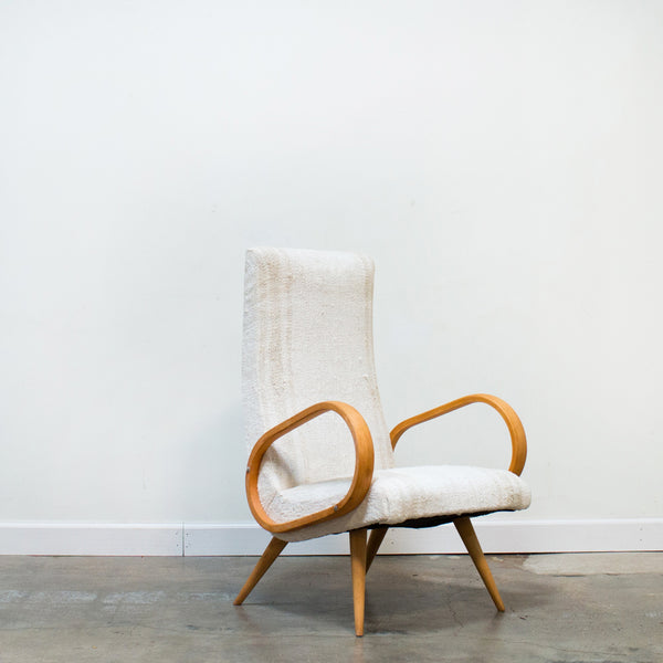 Danish Bentwood Arm Chair