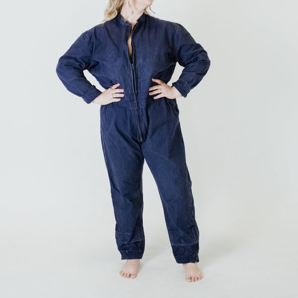 French Army Blue Work Coveralls