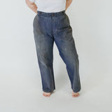 20's - 30's Cotton + Linen Indigo Trousers II