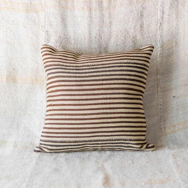 Vintage Striped Kilim Pillow III