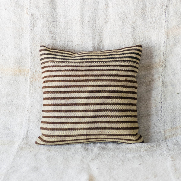 Vintage Striped Kilim Pillow I