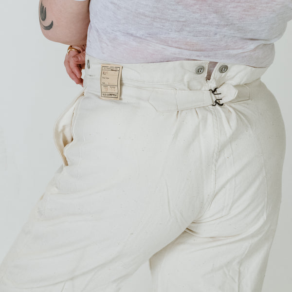 20's Ecru Trousers