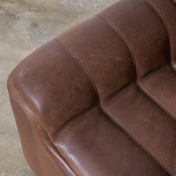 De Sede Buffalo Leather Sofa