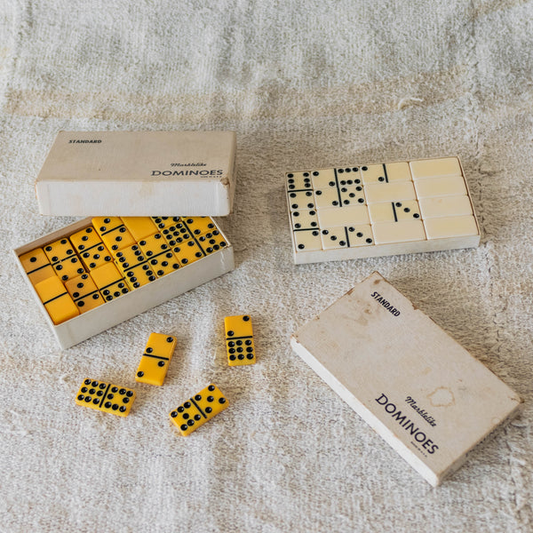 Marbled Dominoes (double set)