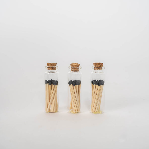 Mini Cork Bottle + Matches