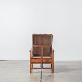 Reclining Jute Chair