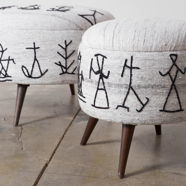Heiroglyph Foot Stools