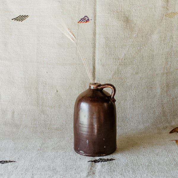 Large Brown Jug