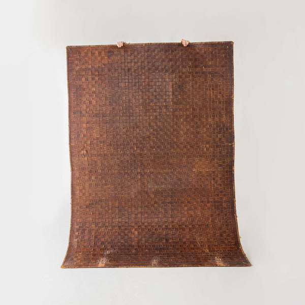 Woven Leather Mat