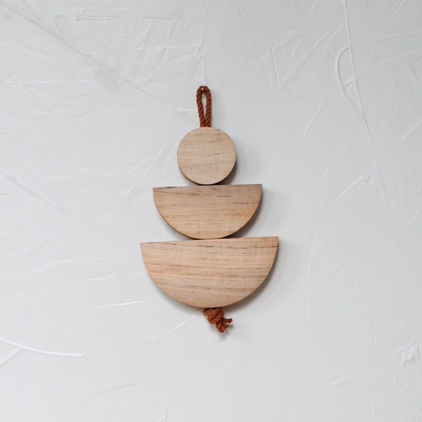 Maple Edie Stacked Wall Hanging