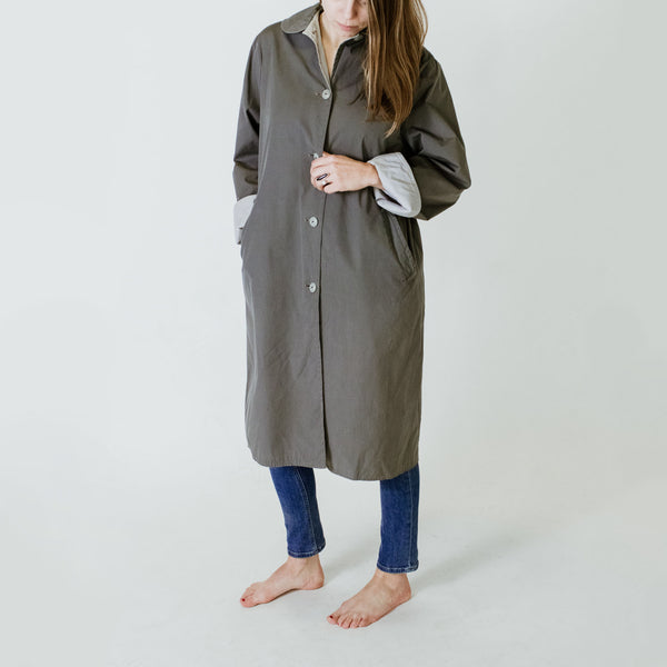 50's Reversible Trench Coat