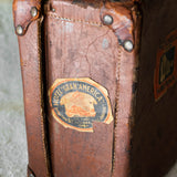 Havana Leather Suitcase