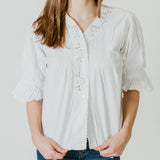 White Eyelet Blouse II
