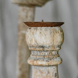 Reclaimed Wood Candlesticks