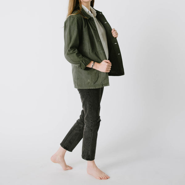 1960's Army Green Chore Jacket