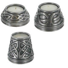 Pewter Tealight Candle Holders