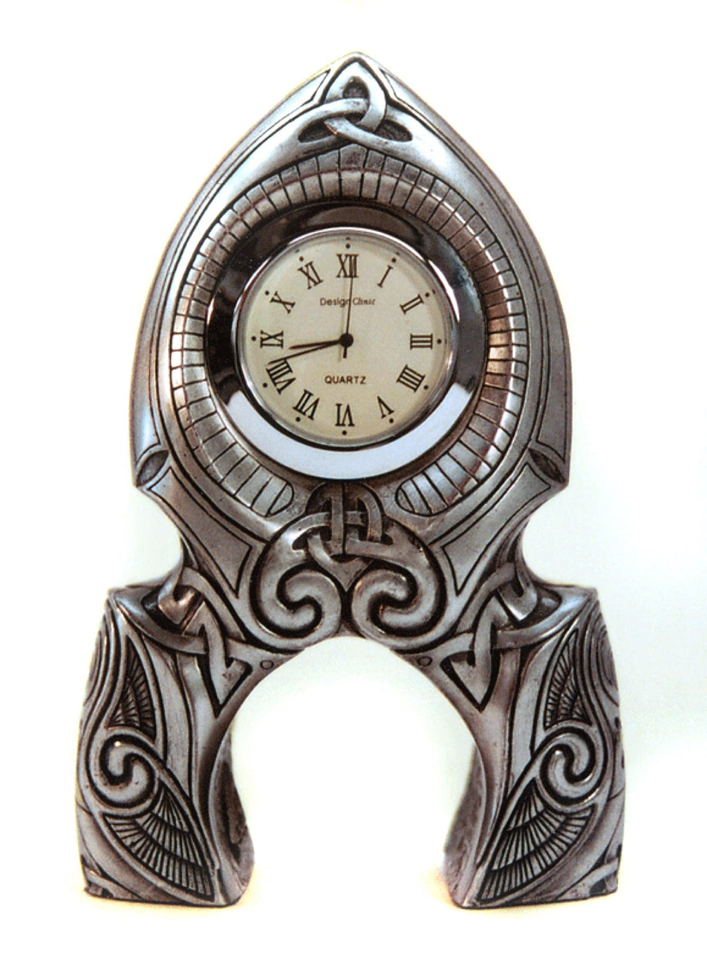 Celtic Kernow Mantle Clock