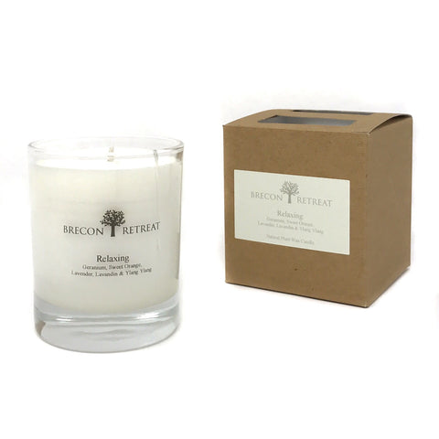 Organic Natural Scented Candle - 'Relaxing'