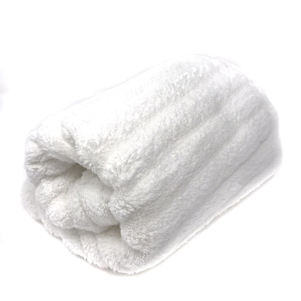 Luxury Zero Twist Ribbed Cotton Towels