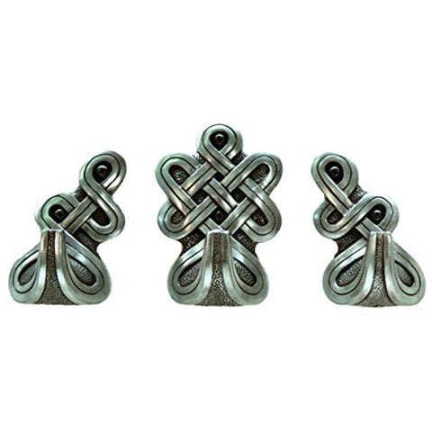 Celtic Pewter Celtic Door Hook Set