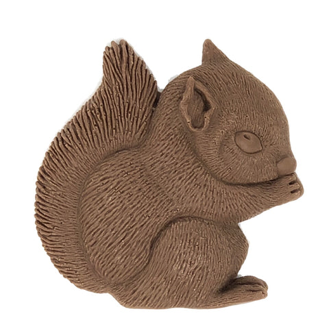 'Cyril' the Squirrel - Solid Milk Chocolate