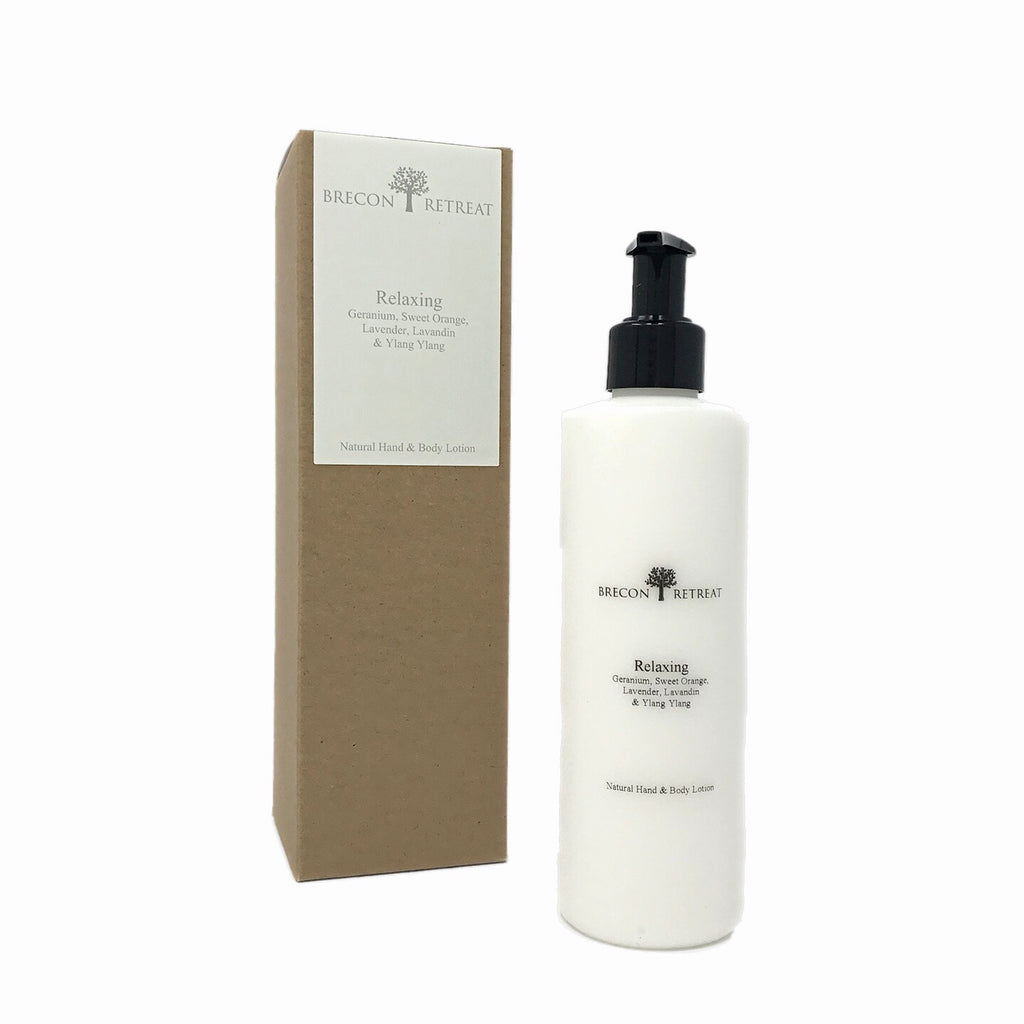 Natural Hand & Body Lotion - Relaxing