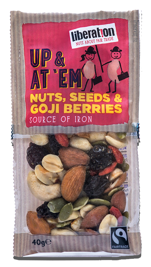 Liberation Fair Trade Nuts, Seeds & Goji Berries (40g)