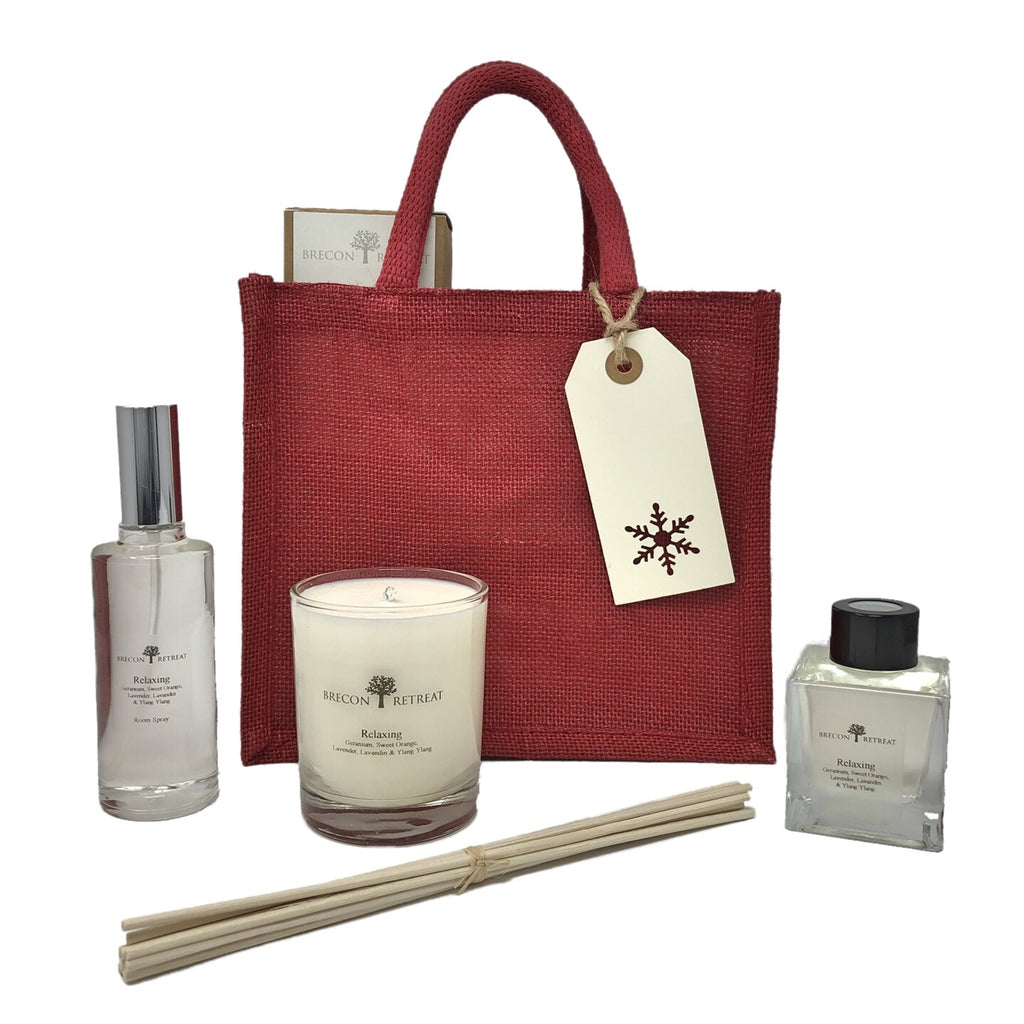 Gift Bag - Candle + Diffuser + Room Spray