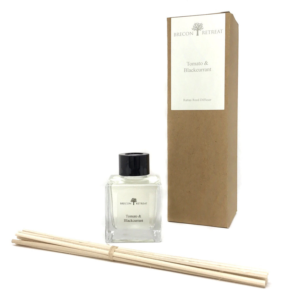 Natural Fragrance Reed Diffuser - Tomato & Blackcurrant