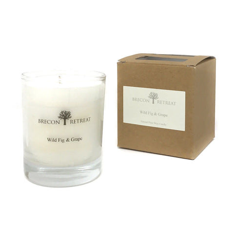 Organic Natural Scented Candle - 'Wild Fig & Grape'