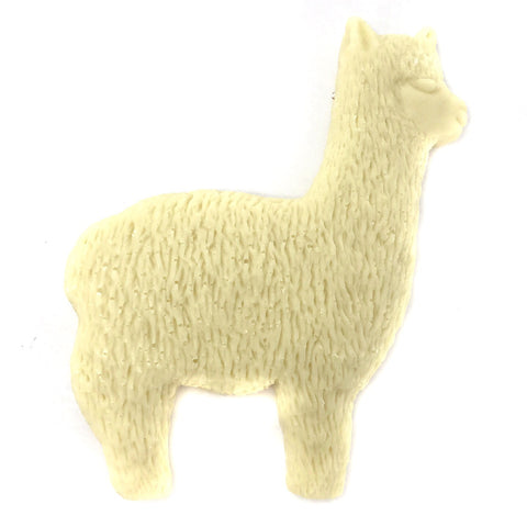 Chocolate Alpaca - Solid White Chocolate