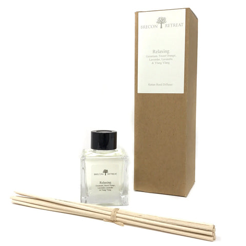 Natural Essential Oil Reed Diffuser - Relaxing